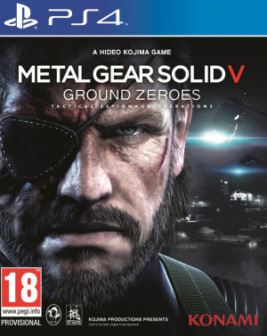 Metal Gear Solid V : Ground Zeroes sur PS4
