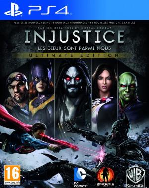 Injustice : Les Dieux sont Parmi Nous – Ultimate Edition sur PS4