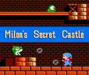 Milon's Secret Castle sur 3DS