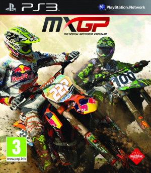 MXGP : The Official Motocross Videogame sur PS3
