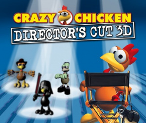 Crazy Chicken : Director's Cut 3D sur 3DS