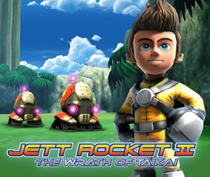 Jett Rocket II : The Wrath of Taikai sur 3DS