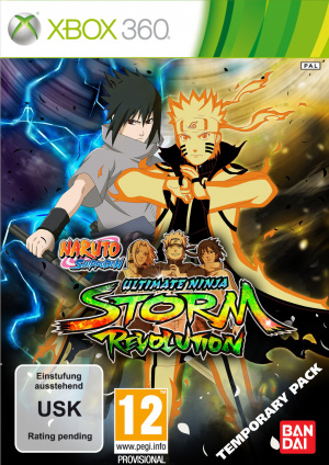 Naruto Shippuden : Ultimate Ninja Storm Revolution sur 360
