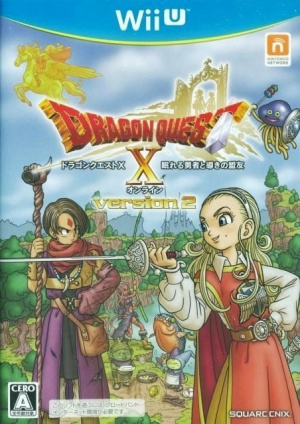 Dragon Quest X : Nemureru Yûsha to Michibiki no Meiyû Online sur WiiU