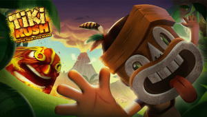 Tiki Rush : Escape from Lava Island sur Vita
