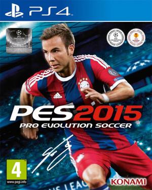 Pro Evolution Soccer 2015 sur PS4