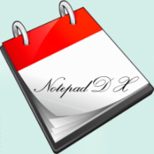 Notepad DX sur Android
