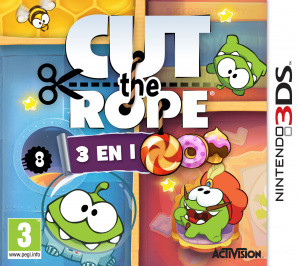 Cut the Rope : 3 en 1 sur 3DS