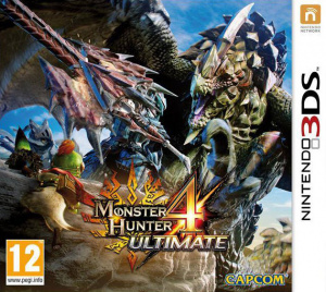 Jaquette de Monster Hunter 4 Ultimate