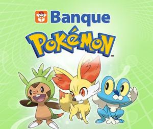Jaquette de Banque Pokémon