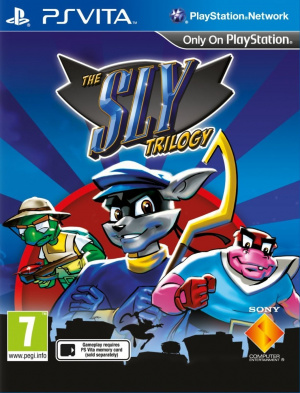 The Sly Trilogy sur Vita