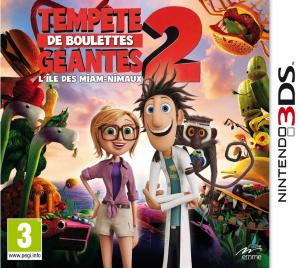 Tempête de Boulettes Géantes 2 : L'Ile des Miam-Nimaux.3DS-VENOM
