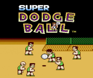 Super Dodge Ball sur 3DS