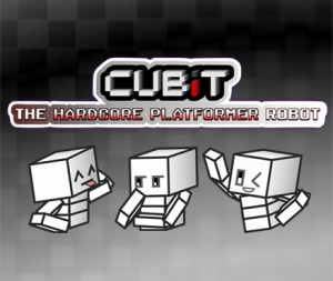 Cubit The Hardcore Platformer Robot sur 3DS