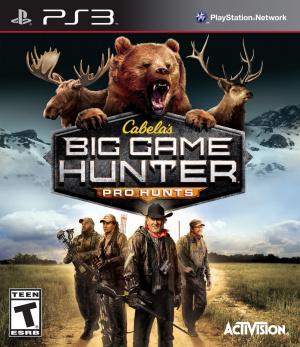 Cabela's Big Game Hunter : Pro Hunts sur PS3