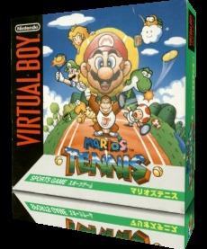 Mario's Tennis sur V.BOY