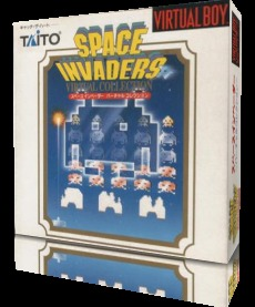 Space Invaders Virtual Collection sur V.BOY