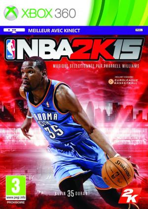 Jaquette de NBA 2K15