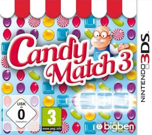 Candy Match 3 sur 3DS