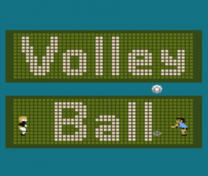 Volleyball sur WiiU
