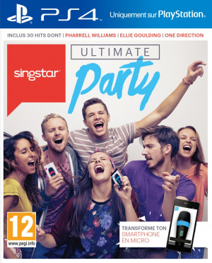 SingStar Ultimate Party sur PS4