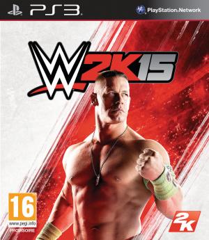 Jaquette de WWE 2K15