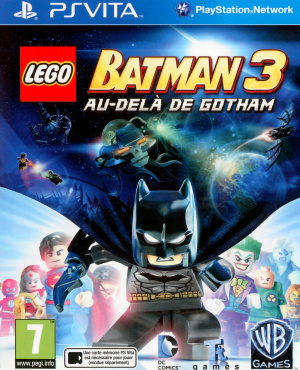 LEGO Batman 3 : Au-delà de Gotham sur Vita