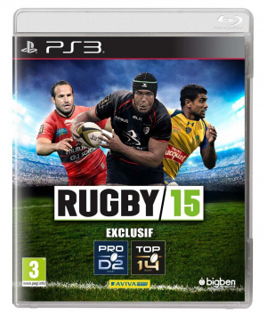 Rugby 15 sur PS3