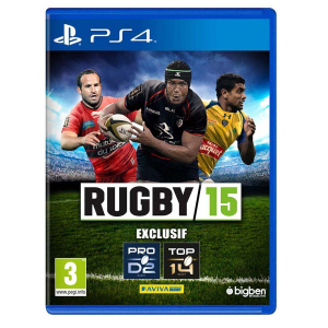 Rugby 15 sur PS4