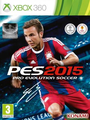 Jaquette de Pro Evolution Soccer 2015