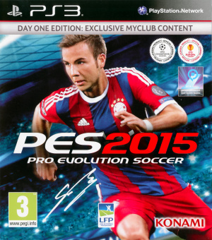 Pro Evolution Soccer 2015 sur PS3
