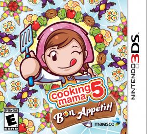 Cooking Mama 5 : Bon Appétit ! sur 3DS