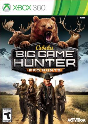Cabela's Big Game Hunter : Pro Hunts sur 360