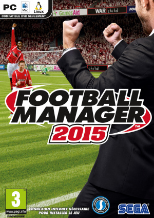 Jaquette de Football Manager 2015