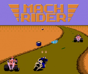 Mach Rider sur WiiU