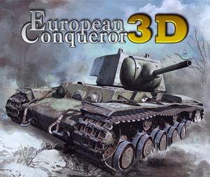 European Conqueror 3D sur 3DS