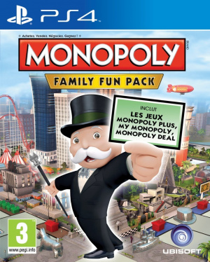 Monopoly Family Fun Pack sur PS4