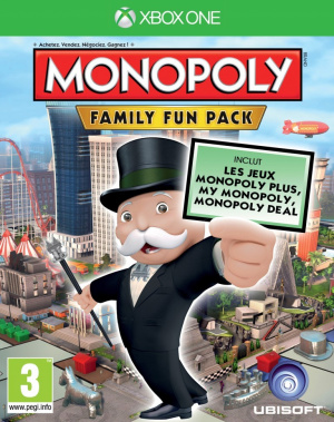 Monopoly Family Fun Pack sur ONE