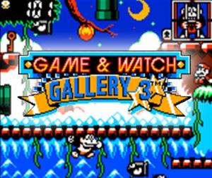 Game & Watch Gallery 3 sur 3DS