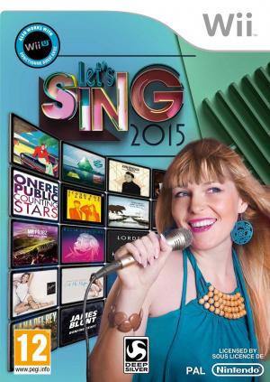 Let's Sing 2015 sur Wii