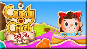 Candy Crush Soda Saga sur Web