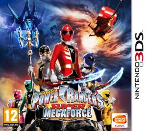Power Rangers Super Mega Force sur 3DS