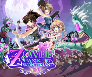 Zombie Panic in Wonderland DX sur 3DS