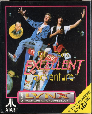 Bill & Ted's Excellent Adventure sur Lynx