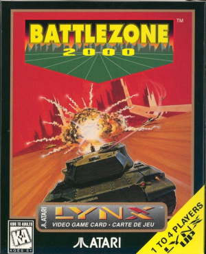 BattleZone 2000 sur Lynx