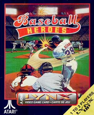 Baseball Heroes sur Lynx