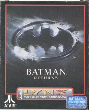 Batman Returns sur Lynx