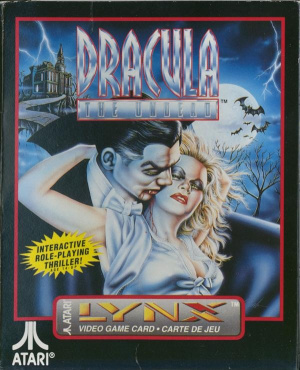Dracula the Undead sur Lynx