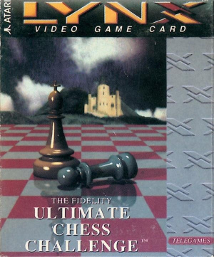 Fidelity Ultimate Chess Challenge sur Lynx