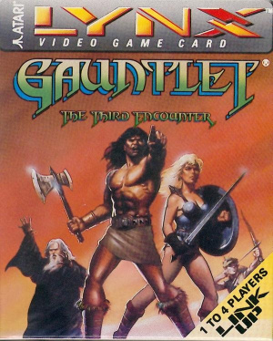 Gauntlet : The Third Encounter sur Lynx